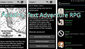 Паладины: текстовое приключение RPG + MOD