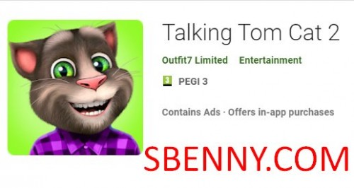 Talking Tom Cat 2 + MOD