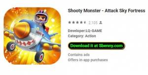 Monster Shooty - Attacco Sky Fortress + MOD