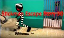 Stickman Évasion histoire 3D + MOD