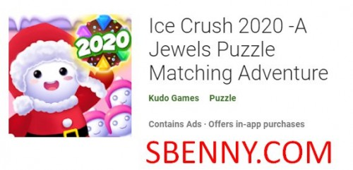 Ice Crush 2020 -A Jewels Puzzle Matching Adventure + MOD