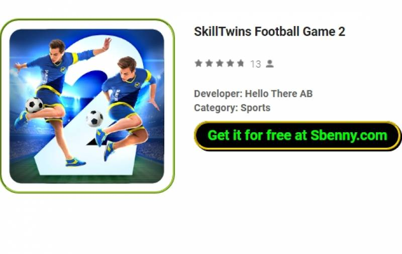 SkillTwins Il-Logħba tal-Futbol 2 + MOD