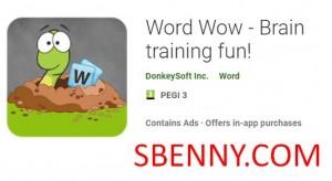 Word Wow - тренировка мозга! + MOD