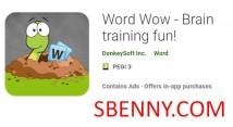 Word Wow - Amusant entraînement cérébral! + MOD