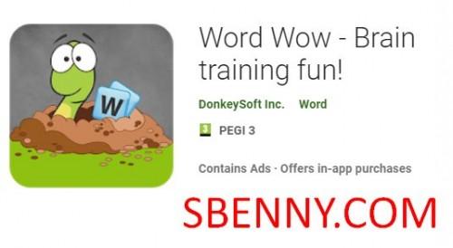 Palabra Wow - ¡Entrenamiento cerebral divertido! + MOD