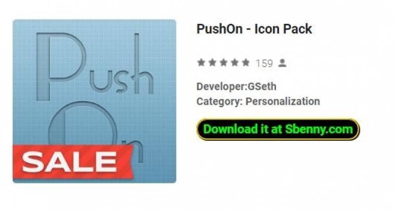 PushOn - Paquete de iconos