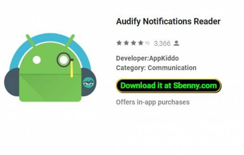 Audify Notifications Reader + MOD