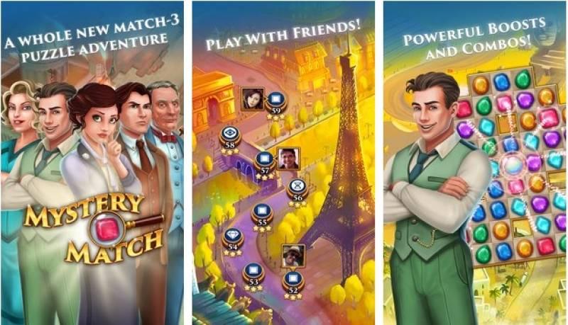 Mystery Match - Puzzle Adventure Match 3 + MOD