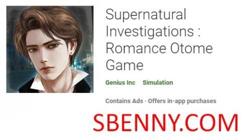 Indagini soprannaturali: Romance Otome Game + MOD