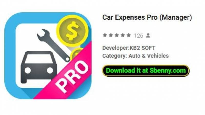 Car Expenses Pro (Manager) + MOD