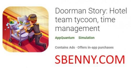 Doorman Story: magnate del equipo del hotel, gestión del tiempo + MOD