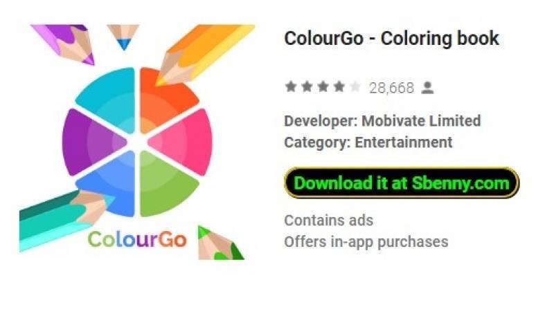 ColourGo - Coloring book + MOD