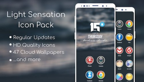 Light Sensation Icon Pack + MOD