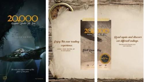 20,000 Leagues - Jules Verne - BEST Book app qatt + MOD