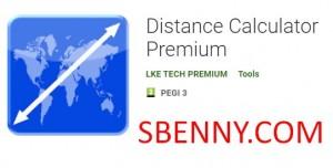 Calcolatore della distanza Premium