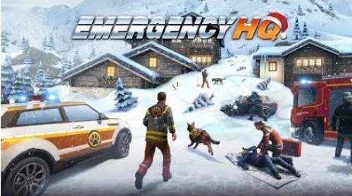 EMERGENCY HQ - jeu de stratégie de sauvetage gratuit + MOD