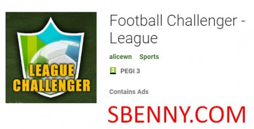 Football Challenger - Lega