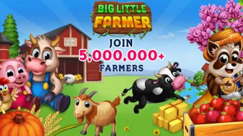 Big Little Farmer Offline Farm + MOD