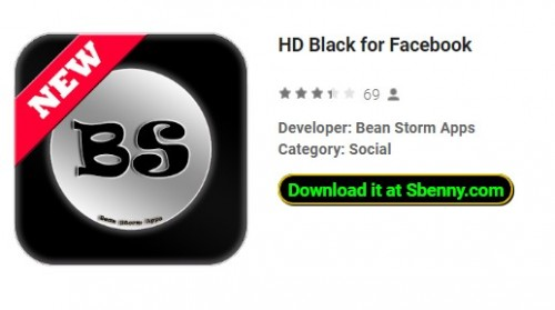 HD Black pour Facebook