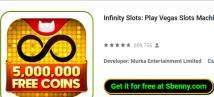 Infinity Slots: Spiel Vegas Slots Machine kostenlos + MOD