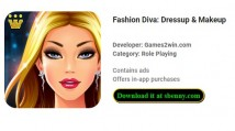 Fashion Diva: Dressup & amp; Maquillage + MOD