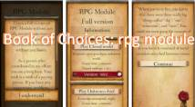 Book of Choices: rpg Modul