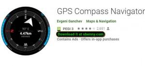 Navegador GPS Bússola + MOD