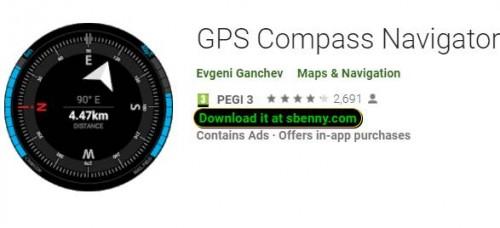 GPS-Kompass-Navigator + MOD