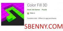 Color Fill 3D + MOD