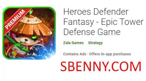 Heróis Defender Fantasy - Epic Tower Defense Game