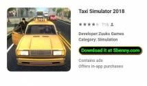Симулятор такси 2018 + MOD