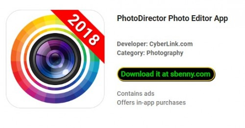 PhotoDirector Photo Editor App Premium Unlocked MOD APK