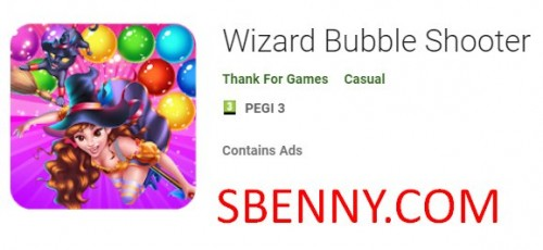 Wizard Bubble Shooter + MOD