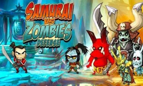 SAMURAI vs ZOMBIES DEFENSE + MOD