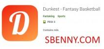 Dunkest - Fantasy Basketball + MOD