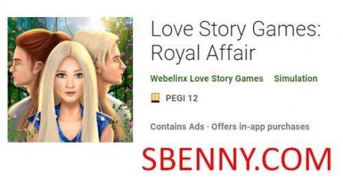 داستان عشق بازی: Royal Affair + MOD