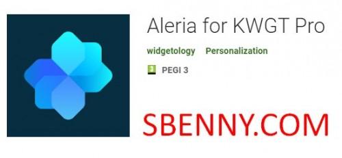Aleria برای KWGT Pro