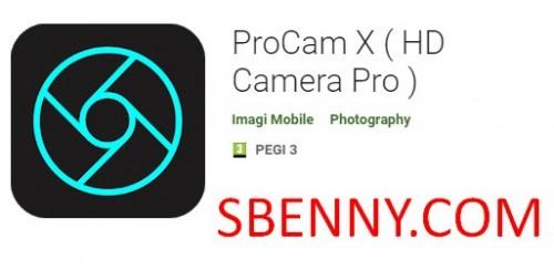 ProCam X (HD Kamera Pro)