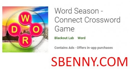 Word Season - Connect Crossword Game + MOD