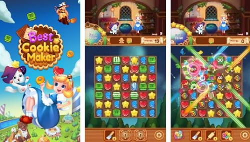 Best Cookie Maker: Fantasy Match 3 Puzzle + MOD