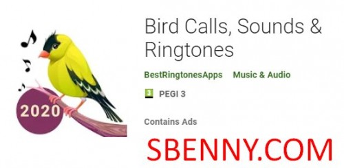 Bird Calls, Sounds & Ringtones + MOD