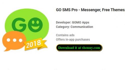 GO SMS Pro - Messenger, kostenlose Themen, Emoji + MOD