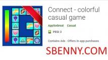 Conecte - jogo casual colorido