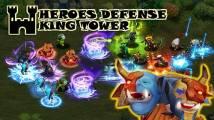 Defesa dos Heróis: King Tower + MOD