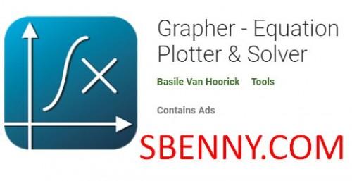 Grapher - Plotter de ecuaciones & amp; Solver + MOD