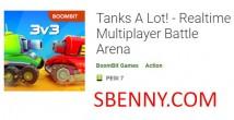 Tanques muito! - Arena de batalha multiplayer em tempo real + MOD