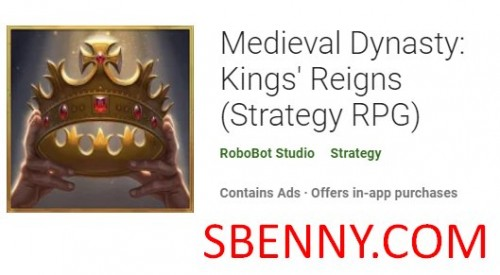 Medieval Dynasty: Kings' Reigns (Strategy RPG) + MOD