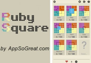 Ruby Square: logisches Puzzlespiel (700-Level)