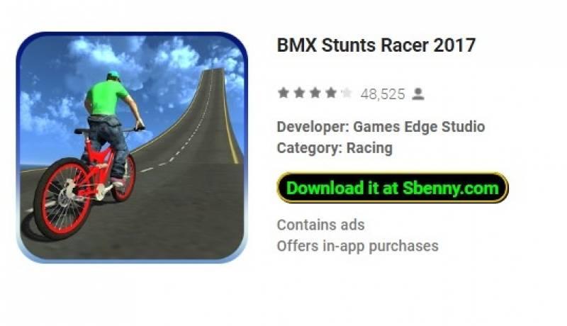 BMX Stunts Racer 2017 + MOD