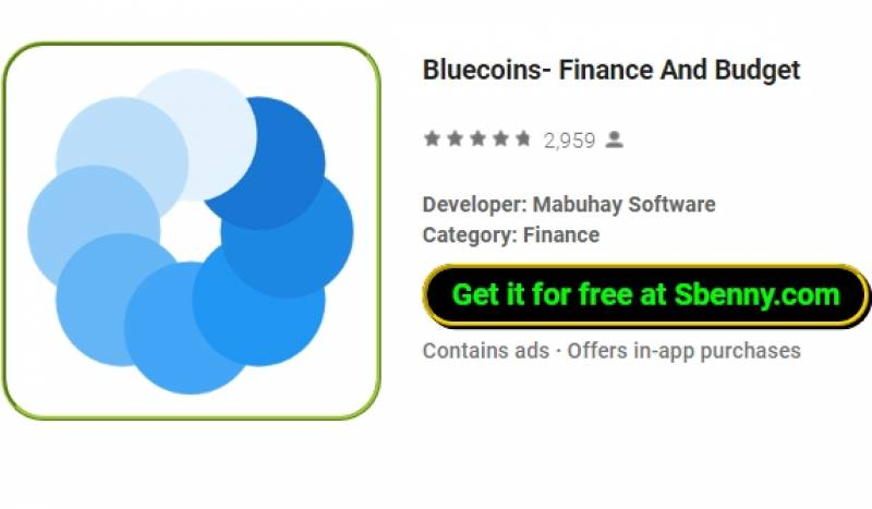 Bluecoins- Finances et budget + MOD